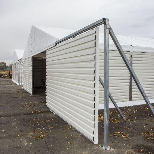 hala namiotowa - hangar