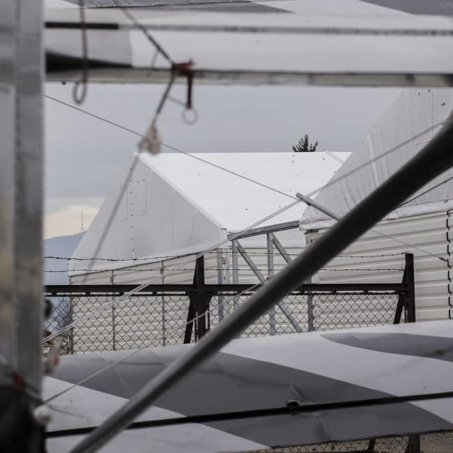 hale namiotowe lotnisko