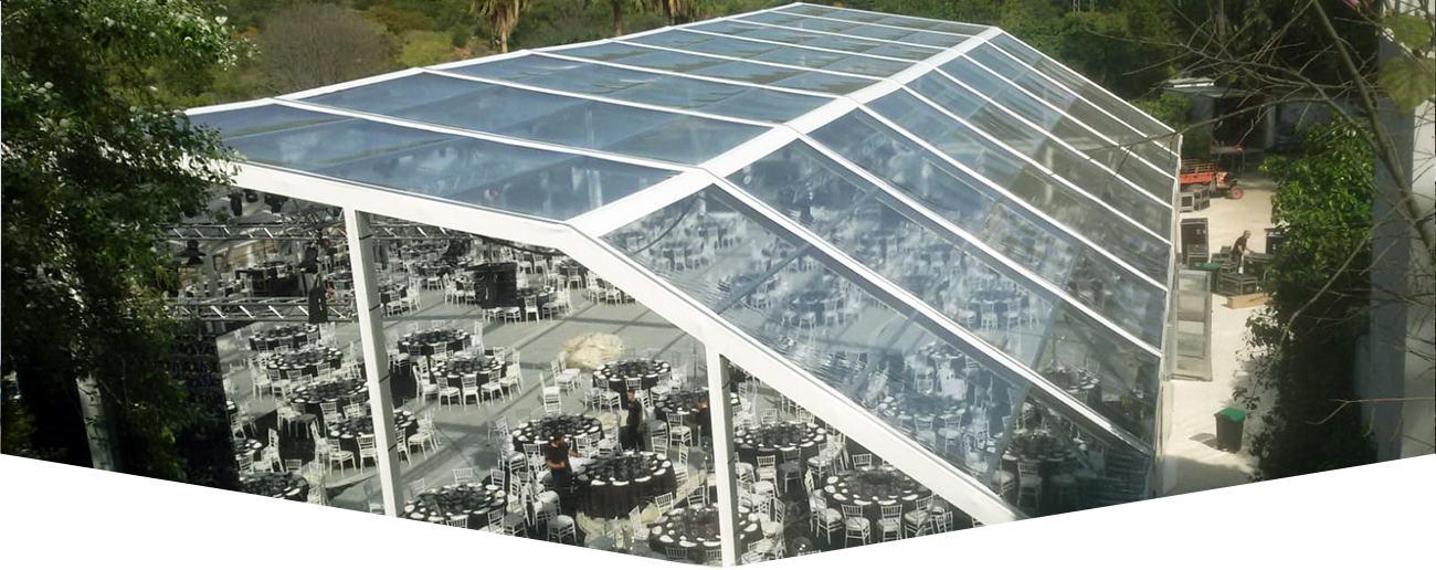 namiot imprezowy transparentny