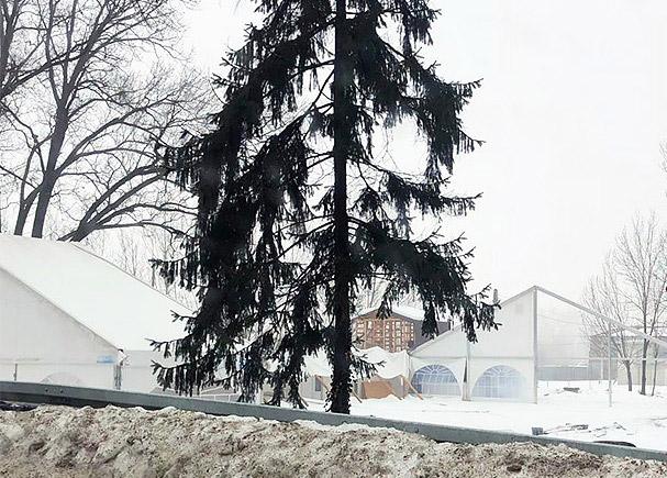 hale namiotowe wytrzymałość konstrukcji