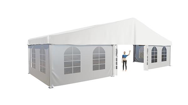 namiot imprezowy z oknami