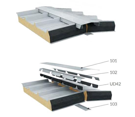 montaż paneli dachowych