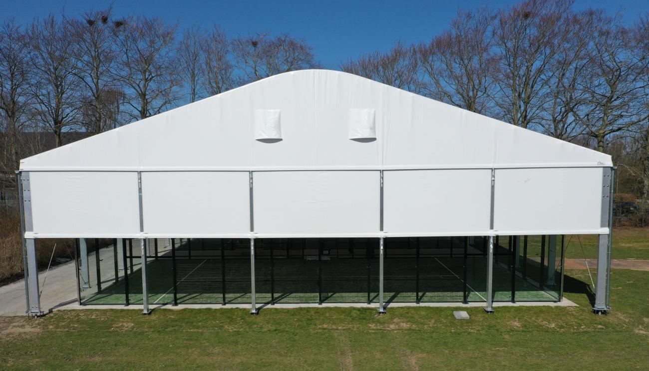 hala namiotowa łukowa sportowa