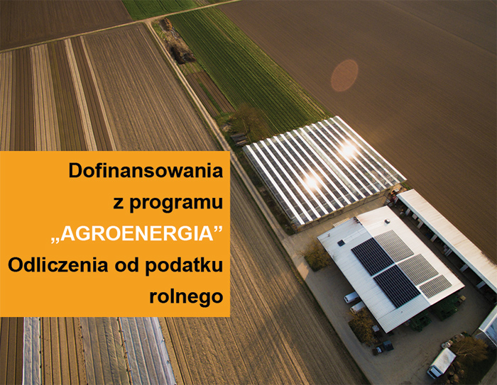 fotowoltaika rolnictwo dofinansowania