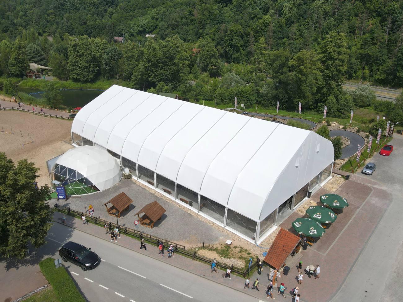 hala sportowa namiotowa