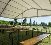 hala namiotowa łukowa