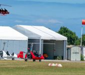 autogyro hangar