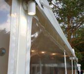 namiot imprezowy oświetlenie