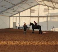 namiot jeździecki gospodarstwo